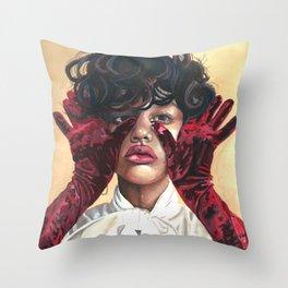 Gloves Throw Pillow