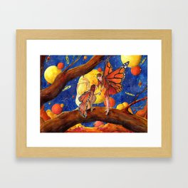 Welcome to the new world Framed Art Print