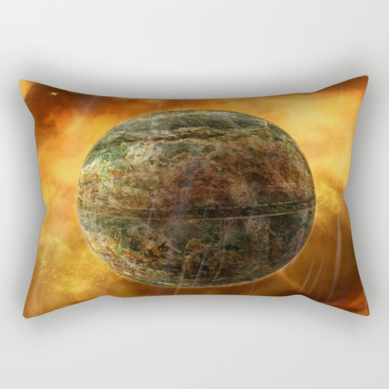 Amber Sky Rectangular Pillow