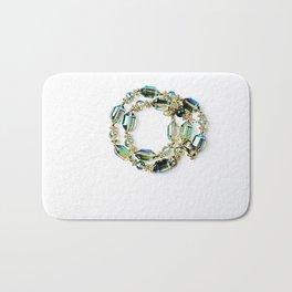 Crystal Bracelet Bath Mat