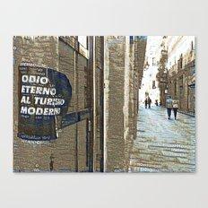 Barcelona digital street photography + Dreamscope Canvas Print