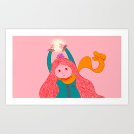 Found A Star Art Print