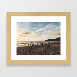 Karon Beach Phuket, Thailand Framed Art Print