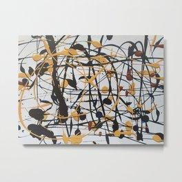 Pollock crème Metal Print