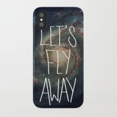 Let's Fly Away (come on, darling) Slim Case iPhone X