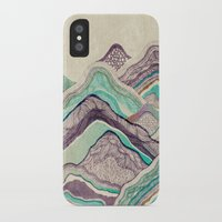 minerals iPhone & iPod Cases featuring Hillside by rskinner1122