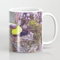 toucan Mugs featuring Toucan by WorldPear