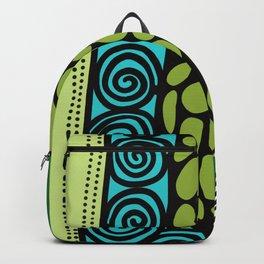 Green Dive -Plongeon vers-textures Backpack