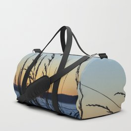 Sunset Sea Grass Duffle Bag