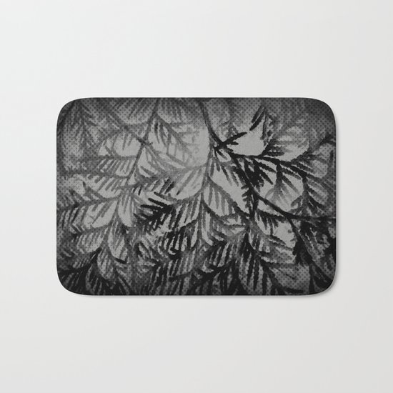 Tree | Trees | Beyond The Trees | Cedar Branches Bath Mat