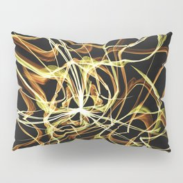 Hearts of Gold Warped Pillow Sham