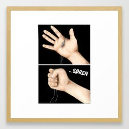 Never Let you Go Framed Art Print