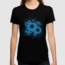 Blue circles of the 70s T-shirt