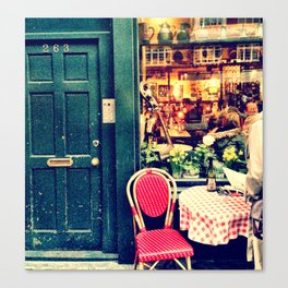 Restaurant - London Canvas Print