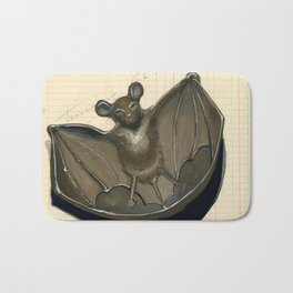 Metal Bat Tray in Gouache Bath Mat
