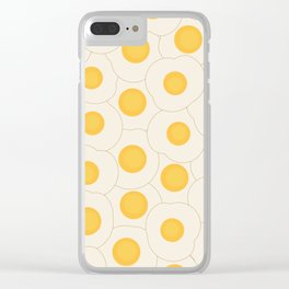Fried Eggs Clear iPhone Case