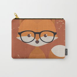 Hipster Fox Carry-All Pouch