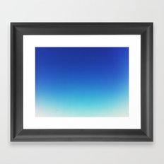 fly, fly away Framed Art Print