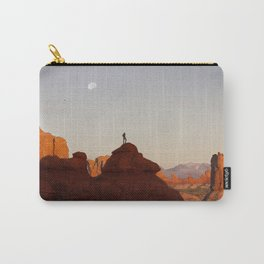 Garden of Eden at sunset. Carry-All Pouch