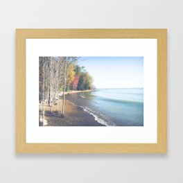 Wasted On You Framed Art Print