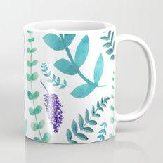 Greenery Pattern II Coffee Mug
