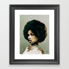 I am not your baby Framed Art Print