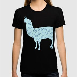Cat lLama T-shirt