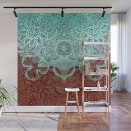 Floral Doodle G565 Wall Mural