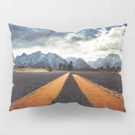 on the road Pillow Sham