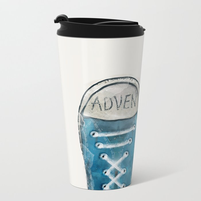 Adventure Metal Travel Mug