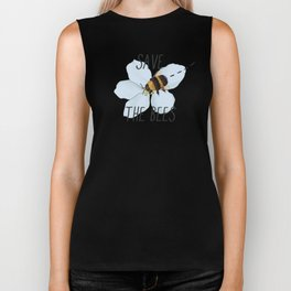Save the Bees Biker Tank