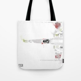 Star Wars Vehicle X-Wing Fighter Tote Bag