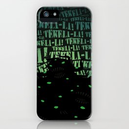 Lovecraft Shoggoth iPhone Case