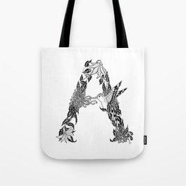 """A"" Tote Bag"