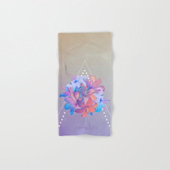 lily bouquet Hand & Bath Towel