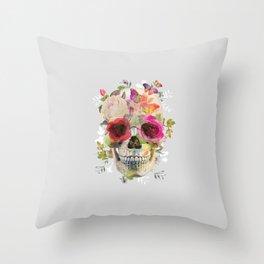 Skull II Throw Pillow