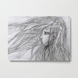 Kelpie Metal Print