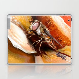 Fly on flower 8 Laptop & iPad Skin
