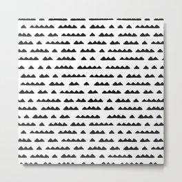 Hand Drawn Pyramids Metal Print