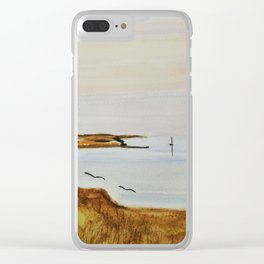 Lampaul summer North Brittany Clear iPhone Case