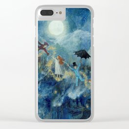 An Awfully Big Adventure - Peter Pan - Nursery Decor Clear iPhone Case