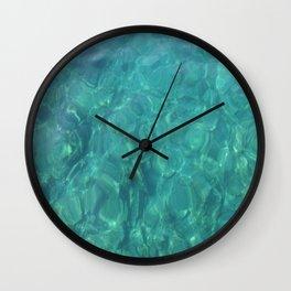 The Mediterranean Lyrics Wall Clock