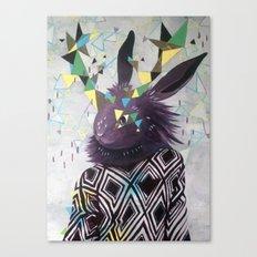 Dark Rabbit Canvas Print