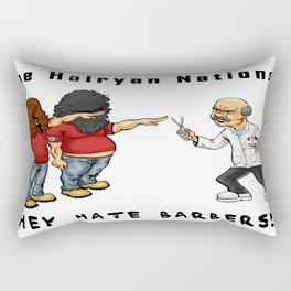 The Hairyan Nations Rectangular Pillow