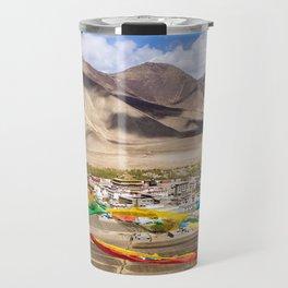 Tibet: Samye monastery & Himalaya Travel Mug