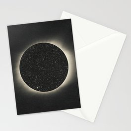 Black hole perspective Stationery Cards