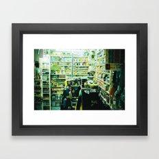 Pharmacy, Marrakech, Morocco  Framed Art Print