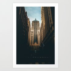 Chicago Board of Trade Building Art Print