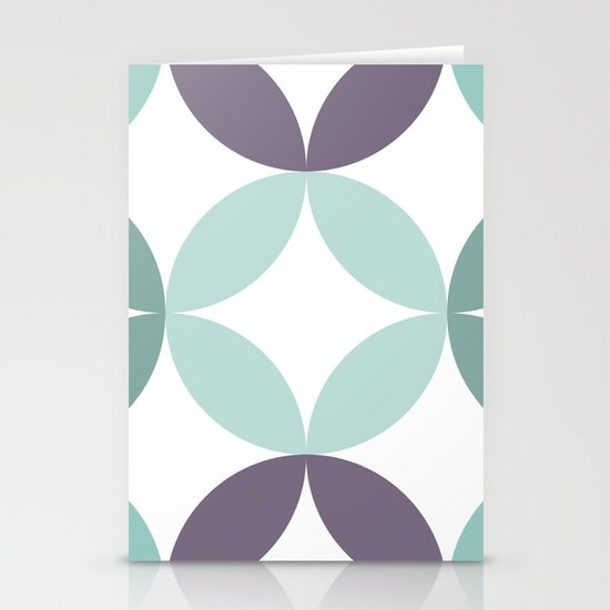 Shapes 007 Stationery Cards