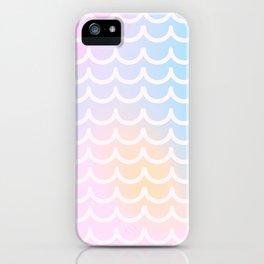 pastel scale iPhone Case